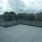 14. Terrasse Penthouse - Nouvelle balustrade en métal laqué