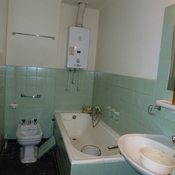 9. Before - removal of bath and bidet
