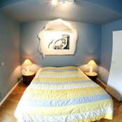 A sofa-bed